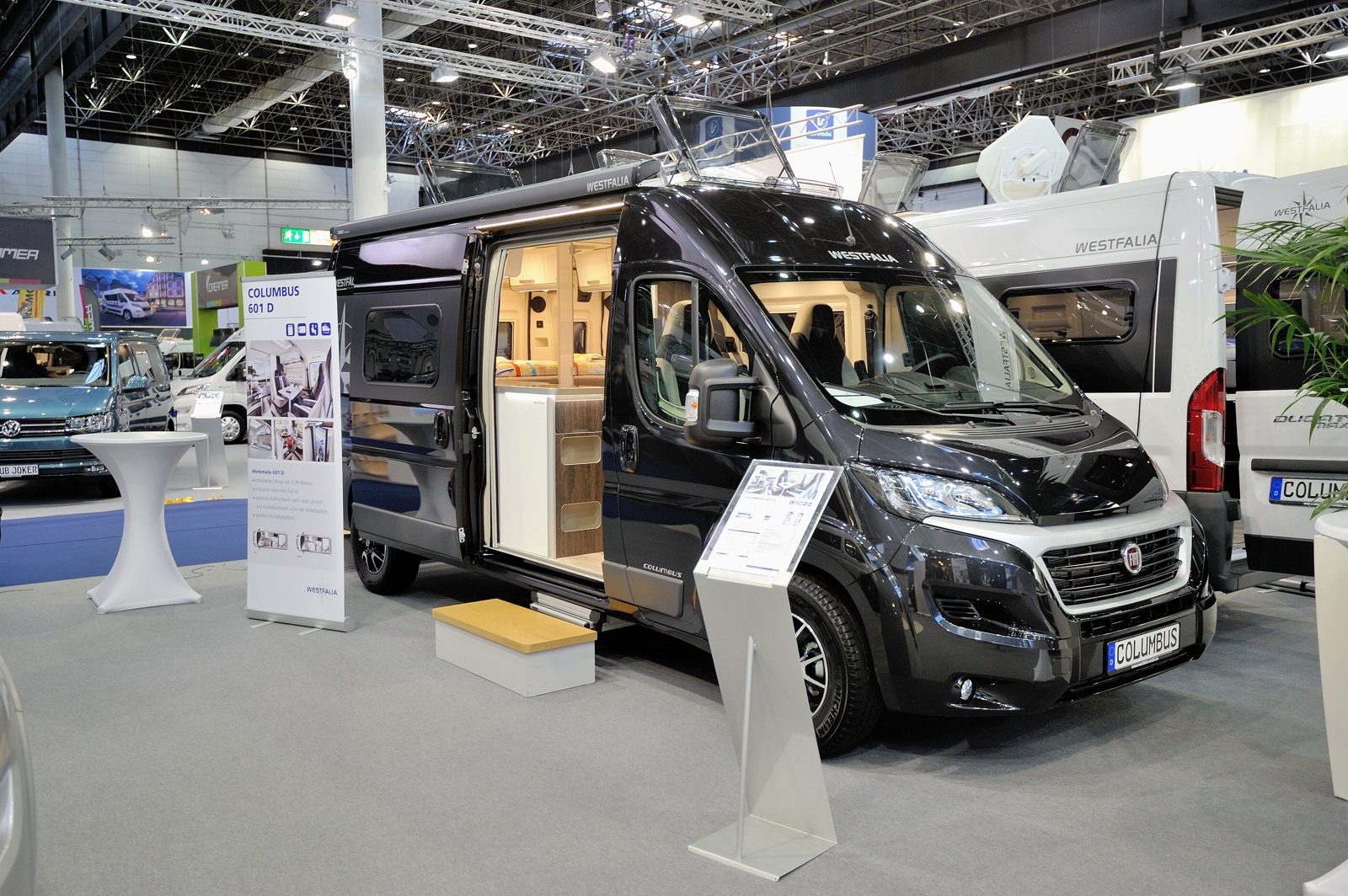 Caravan salon 2017 westfalia mobil gmbh for Salon caravaning